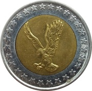 Token (Eagle) – obverse