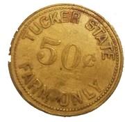 50 Cents - Tucker State Farm (Arkansas) – obverse