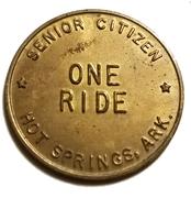 1 Ride - C.S.O. Transportation Program (Senior Citizen; Hot Springs, Arkansas) – reverse