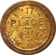 5 Cents - Matt's Place (Grangeville, Idaho; 2 Stars Reverse) – obverse
