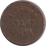 10 Pfennig (Gotha) – obverse