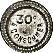 30 Centimes - A Consommer (Club) – reverse