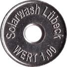 Car Wach Token - Solarwash Lubeck – obverse