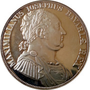Medallion - 160 Years of Bayern Constitution – obverse