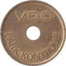 Parking Token - VDO Park-Kontrolle (Brass) – obverse