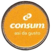 Shopping Cart Token - Consum – obverse