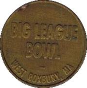 Token - Big League Bowl (West Roxbury, Massachusetts) – obverse