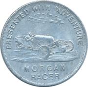 Token - Presented with Adventure (A. Troup Everton / Morgan Racer) – reverse