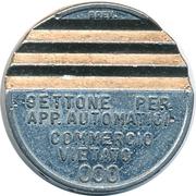 Token - Gettone Apparecchi Automatici (000) – obverse