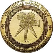 1 Dollar - Celebrity Hotel - Calamity Jane (Deadwood, South Dakota) – reverse