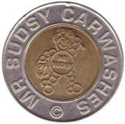 1 Dollar Car Wash Token - Mr. Sudsy (Puyallup) – obverse