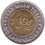 1 Dollar Car Wash Token - Mr. Sudsy (Puyallup) – reverse