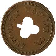 5 Cents - Automatic Machine Co. (Clover) – obverse