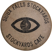 1 Cup of coffee - Stockyards Cafe (Sioux  Falls, South Dakota) – obverse