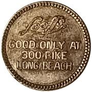 10 Cents - Looff's (Long Beach, California) – obverse