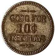 10 Cents - Looff's (Long Beach, California) – reverse