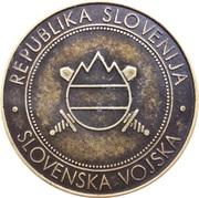 Token - Slovenska vojska (430. Mornariški divizion) – reverse