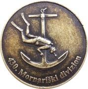 Token - Slovenska vojska (430. Mornariški divizion) – obverse
