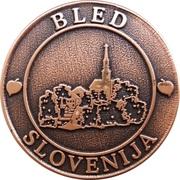 Token - Bled Slovenija – obverse