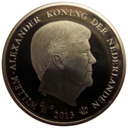 Token - Willem-Alexander Coronation – obverse