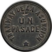 1 Passage - Tramway de la Asuncion – reverse