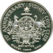 Medal - Sydney Coin Club – obverse