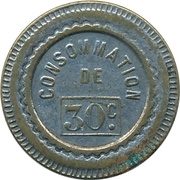 30 Centimes - Consommation (Pig) – obverse