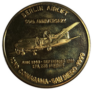 Medal - Inter-Club Numismatic Council (42nd Coinarama, Berlin Airlift Anniversary) – obverse