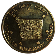 Medal - Inter-Club Numismatic Council (42nd Coinarama, Berlin Airlift Anniversary) – reverse