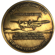 Medal - Heartland Coin Club (41st Anniversary) – obverse