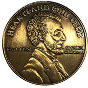 Medal - Heartland Coin Club (41st Anniversary) – reverse