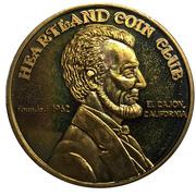 Medal - Heartland Coin Club (38th Anniversary) – reverse