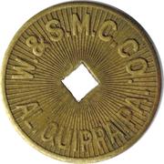 1 Fare - W. & S.M.C. Co. Aliquippa (Aliquippa, PA) – obverse