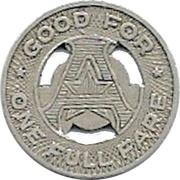 1 Full Fare - Austin Transit Co. (Austin, Texas) -  reverse
