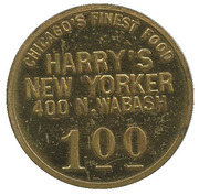 1 Dollar - Harry's New Yorker – obverse