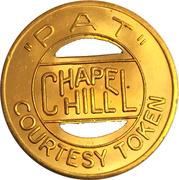 """1 Bus Fare / 1 Hour Parking -  """"PAT"""" (Chapel Hill, NC) – obverse"""