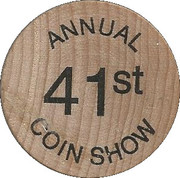 Token - Delta Coin Club (Stockton, California) – reverse