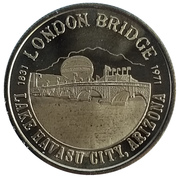 Havasu Dollar - Lake Havasu London Bridge (Lake Havasu City, Arizona) – obverse