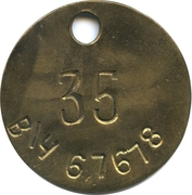 Token - 35 Military Unit (67678) – obverse