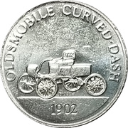 Token - Sunoco Antique Car Coin Series 2 (Oldsmobile Curved-Dash) – obverse