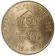 Token - Elks Lodge 336 (Salem, Oregon) – obverse