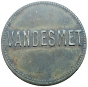 2 Centimes - Vandesmet – obverse
