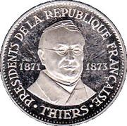 Medal - Présidents de la République Française (Thiers) – obverse