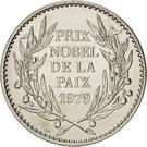 Token - Prix Nobel de la Paix (Mère Teresa) – reverse
