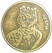 Token - Itaipu Binational Series (Foz do Iguaçu - Harpy) – obverse