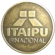 Token - Itaipu Binational Series (Foz do Iguaçu - Harpy) – reverse