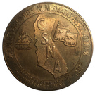 Medal - California State Numismatic Association (57th Convention) – reverse