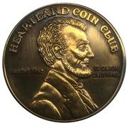 Medal - Heartland Coin Club (39th Anniversary) – reverse