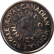 Royal Canadian Mint Token – obverse