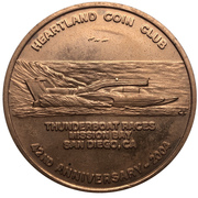 Medal - Heartland Coin Club (42nd Anniversary) – obverse